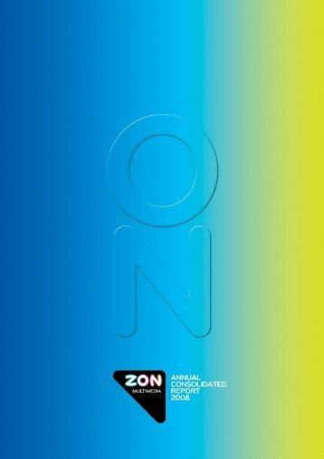 annual consolidated report 2008 zon multimédia – serviços de ...