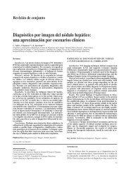 Diagnóstico por imagen del nódulo hepático - AEC_____Asociación ...