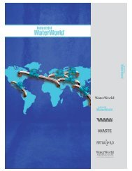 2012 Water Waste Media Kit - WaterWorld