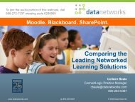 Presentation Download - Data Networks