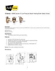 Technical Sheet - 13 Series