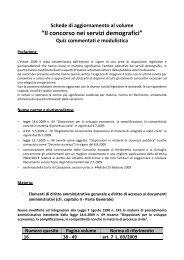 Aggiornamento al pacchetto sicurezza (L. 15 luglio 2009 ... - Maggioli