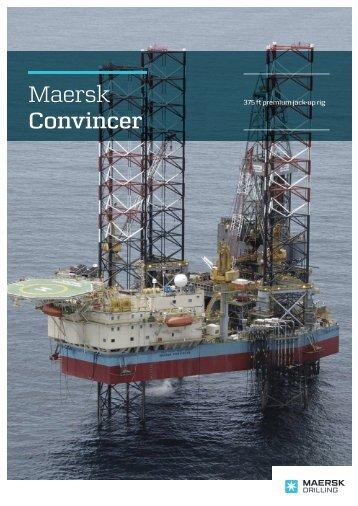 MAERSK CONVINCER - Maersk Drilling
