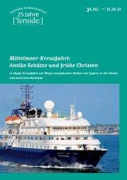Antike Schätze und frühe Christen 31.10. - Lernidee