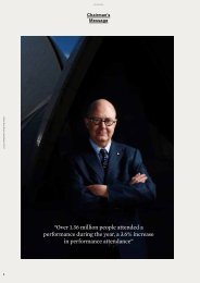 Chairman and CEO Message - Sydney Opera House