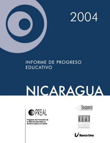 Informe de Progreso Educativo, Nicaragua 2004 - OEI