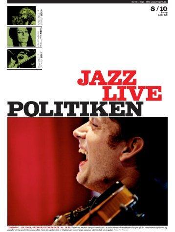 Fredag 8. juli 2011 TIL ANGREB PÅ GUITAREN SIDE 7 ... - Politiken