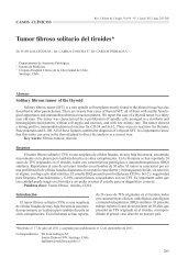 Tumor fibroso solitario del tiroides - SciELO