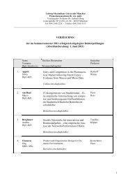 Promotionsabschlussliste Sommersemester 2011
