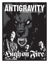 April 2006 (PDF) - Antigravity Magazine