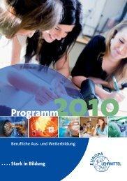 2010 - Europa-Lehrmittel