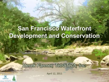 San Francisco Waterfront Development and Conservation