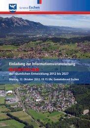 Einladung zur Informationsveranstaltung RICHTPLAN - Gemeinde ...