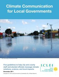 Climate Communication for Local Governments - ICLEI Local ...
