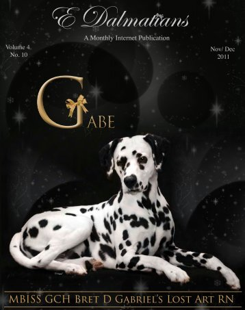 Download Complete NOV/DEC Edition in PDF - E Dalmatians