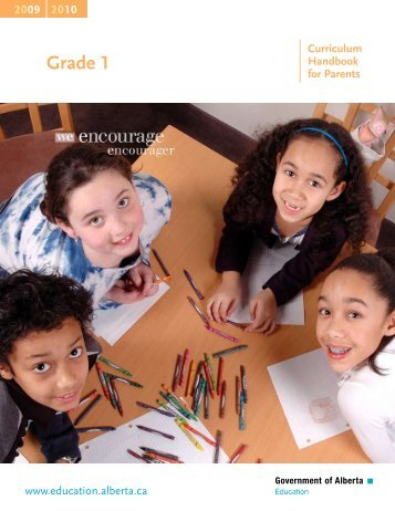 Grade 1 Handbook - Grande Prairie Public School District