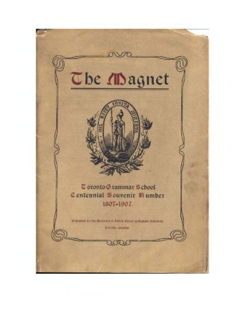 1907 Magnet Yearbook