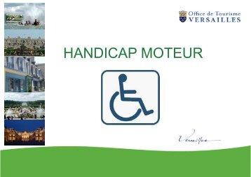 Le handicap moteur un v ritable probl me de sant publique for Office de tourisme de versailles