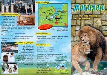 Der Tier- und Freizeitpark an der Nordsee - Jaderpark