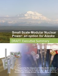 Small Scale Modular Nuclear Power: an option for Alaska
