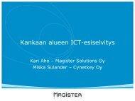 ICT-esiselvityksen kooste