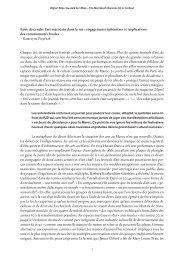 engagements éphémères et implications des ... - Higher Atlas