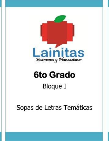 6to Grado - Bloque 1 - Sopa de Letras.pdf