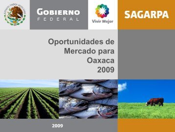 Oaxaca - Sagarpa