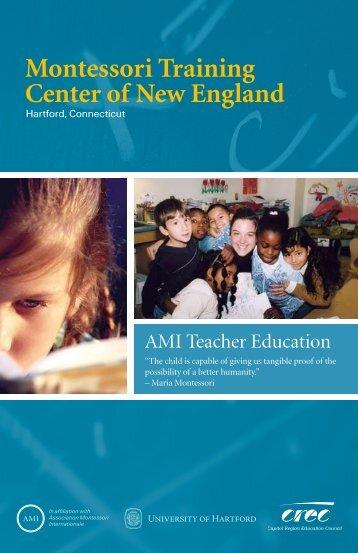 Montessori Training Center of New England - Capitol Region ...