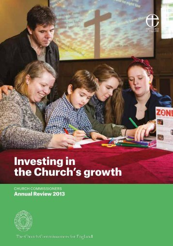 church commissioners annual review 2013