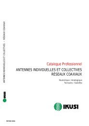 Catalogue Professionnel ANTENNES ... - Tvradio-nord.com
