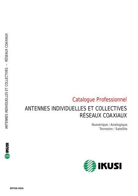 Catalogue Professionnel Antennes Tvradio Nord Com