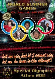 """""""THiS iS my liFe"""" Special OlympicS - Hermann Krist Online"""