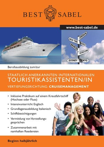 TOURISTIKASSISTENTEN/IN - BEST- Sabel