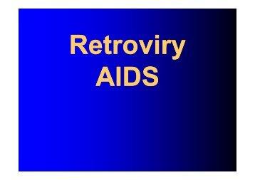 Retroviry, AIDS - LF