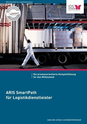 ARIS SmartPath für Logistikdienstleister Die ... - IDS Scheer AG