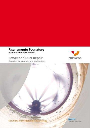 Risanamento Fognature Sewer and Duct Repair - Minova ...