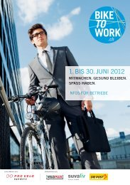 Eine Aktion von: Unterstützt von: - Bike to work
