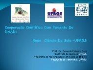 Cooperação Científica Com Fomento Do DAAD: Rede Ciência Do ...