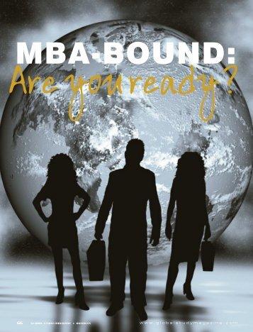 MBA-Bound - UC Irvine Extension - University of California, Irvine