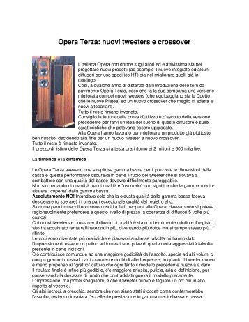 Opera III MkII - Mario Bon