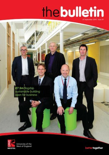 £7.5m flagship sustainable building open for business