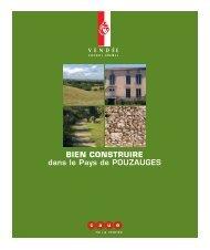 BIEN CONSTRUIRE dans le Pays de POUZAUGES - CAUE