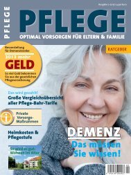 Kunden-Zeitschrift - Risiko & Vorsorge