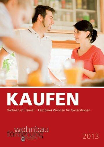 Kaufen 2013 - Vorarlberg
