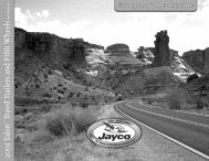 2003 Talon Travel Trailers and Fifth Wheels - Jayco
