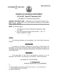 the general provident fund (tamil nadu) rules - food safety news