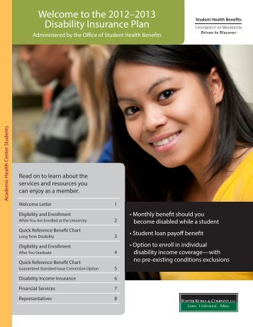 Welcome to the 2012–2013 Disability Insurance Plan - Office of ...
