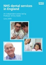 NHS dental services in England - Dorset Local Dental Committee
