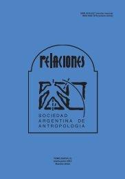 Descargar PDF (335Kb) - Sociedad Argentina de Antropología